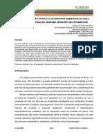 USO E OCUPAÇÃO DO SOLO E OS IMPACTOS AMBIENTAIS NA FAIXA COSTEIRA DA PRAIA DE JENIPABU, MUNICÍPIO DE EXTREMOZ-RN_000