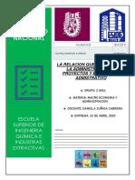 ADMINISTRACION DE PROYECTOS Y PROCESO ADMINISTRATIVO ALFREDO TLAPALE MTZ