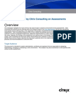 Top 10 Items Found by Citrix Consulting on Assessments