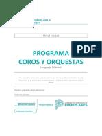 Cuadernillo Lenguaje Musical - Nivel Inicial