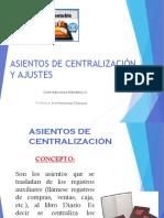 3 H-I Asientos de Central y Ajustes-Depreciación