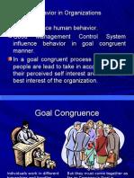Behavior in organization
