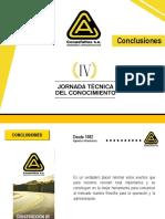 Conclusiones Generales por Carlos Mario Betancur - Gerente General