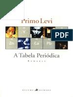 A Tabela Periódica - Primo Levi
