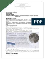 Guía 3, grado 6, El Sistema Solar