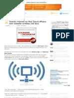 iPhone sem roteador wireless (Ad hoc)