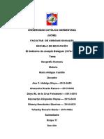 El Gobierno de Joaquín Balaguer