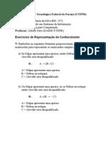 Exercícios Resolvidos de Representação de Conhecimento
