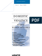 domestic violence research proposal
