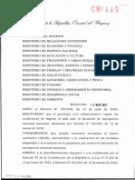 Decreto Ingreso Al País Con Vacuna