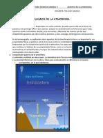 monografia de quimica de la atmosfera