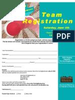 Kickball Registration Form 2011
