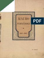 Don Mauro Fernández su vida y su obra