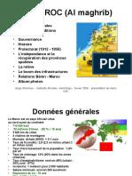 Le Maroc en Mouvement Prc3a9sentation Gc3a9nc3a9rale1
