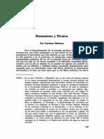 Humanismo y Técnica en Revista Colombiana de Filosofía Por Cayetano Betancur