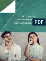 A Produção Do Conhecimento Nas Ciências Sociais Aplicadas Vol.3 - Willian Douglas Guilherme