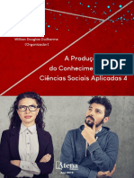 A Produção Do Conhecimento Nas Ciências Sociais Aplicadas Vol.4 - Willian Douglas Guilherme