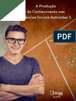A Produção Do Conhecimento Nas Ciências Sociais Aplicadas Vol.5 - Willian Douglas Guilherme