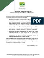Declaración FARM