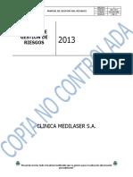 M-C-063 MD MANUAL DE GESTION DEL RIESGO