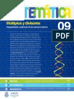 9 - Matemática - Múltiplos y divisores