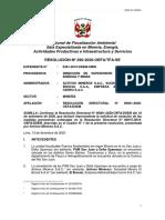 Resolución del TFA Medida preventiva