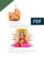 Diversas imagens Deuses Hindus