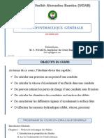 Crs Hydraulique Générale UCAB Final