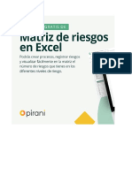 Matriz de Riesgos en Excel
