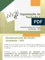 Aula11 - Gestão da Qualidade QFD