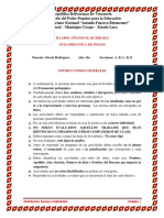 Guía de Inglés 4to. Año A, B, C, D, E. Prof. Gloria Rodríguez