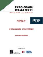 Expo Comm Italia 2011, Sessione VIRTUALIZATION & CLOUD
