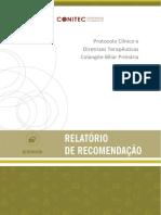 Relatorio PCDT Colangite Biliar Primaria CP 30 2019