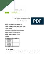 Relatório glicose método dns - IFRJ