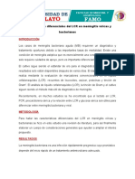 Análisis, Informe , CARACTERÍSTICAS DEL LCR 22