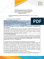 Guía de Actividades y Rúbrica de Evaluación - Unidad 3 - Tarea 4 - Desarrollar Caso de Estudio 3