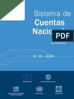 Sistema de Cuentas Nacionales 2008