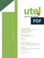 Tarea 2. Sistemas de Información en la Empresa UTEL