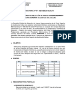 03. Bases Convocatoria Selección Jueces Supernumerarios Callao