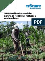 Institucionalidad Agraria en Honduras