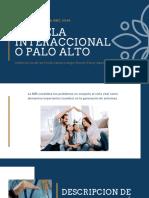 ESCUELA INTERACCIONAL O PALO ALTO