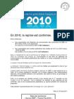 Marché Publicitaire Français 2010
