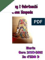 PORJECTE LAMPADA-MARIA REBES 2010-2011