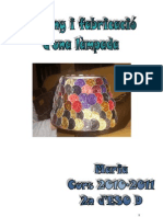 PROJECTE LAMPADA PEU-MARIA REBES 2010-2011