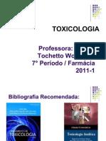 Toxico- Aula 1