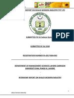 RNSHIP_REPORT_ON_KHALID_MODERN_INDUSTRY_PVT_LTD_ALI_ZAIB_1