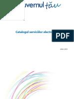 Catalogul Serviciilor Electronice