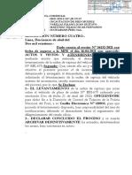 LEVANTAMIENTO CORDEN DE CAPTURA
