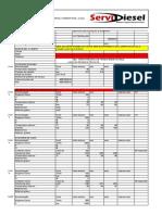 Tabela Bomba de Alta Cr Catterpillar c 7,1 416 Dl Camonn Rail 2 Elem.