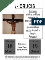 Viacrucis en La Iglesia 2011